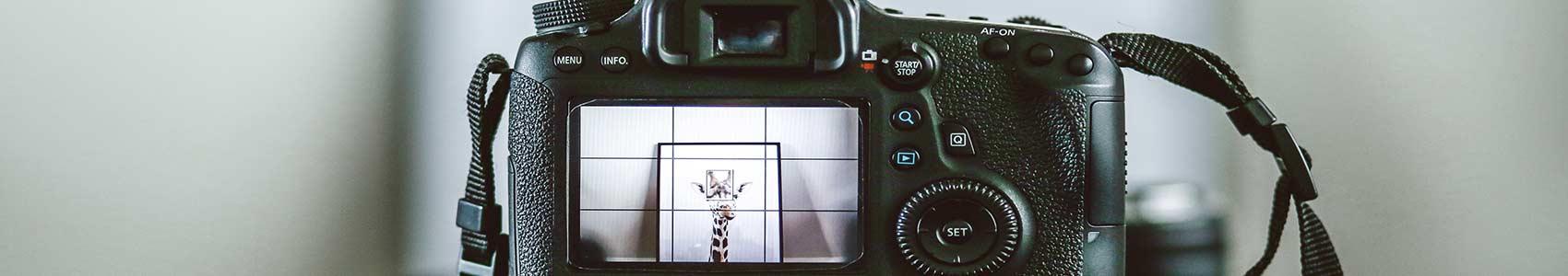 réglages appareil photo - top