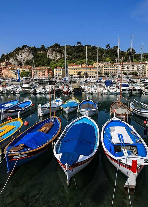 Photo du port de Nice pour le stage photo de Nice