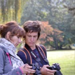 Les participants d'un stage photo pour associations