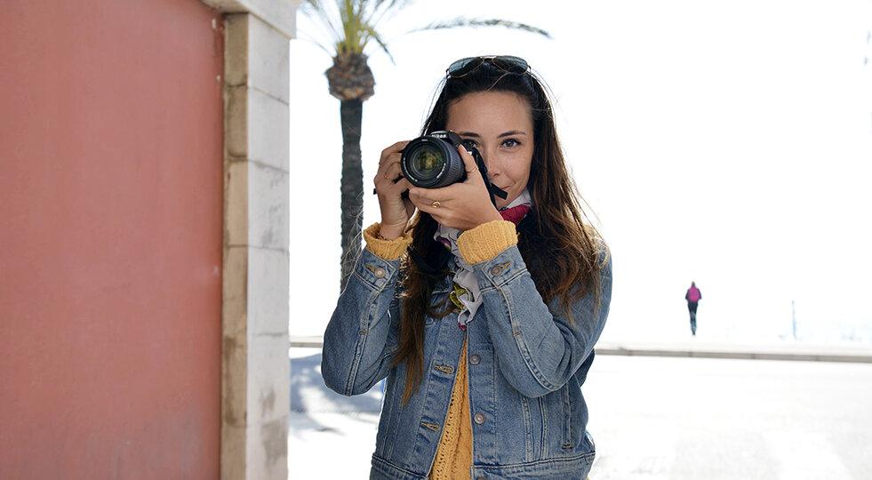 Participante du cour particulier photo de Nice