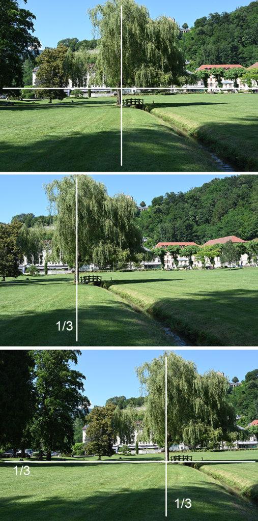 Exemple règle du tiers en photgraphie