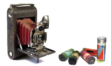 Kodak folding et pellicules 120